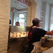 Oyster bar at Ed's Lobster Bar in New York. Photo by alphacityguides.