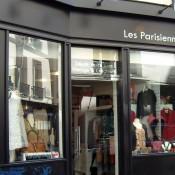 Store front at Les Parisiennes in Paris. Photo by alphacityguides.
