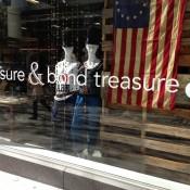 Window display at Treasure & Bond in New York. Photo by alphacityguides.