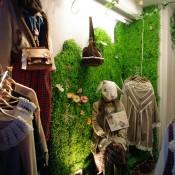 Japanese fashion display at Wonder Rocket Harajuku. Photo by alphacityguides.