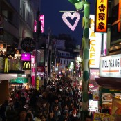 Busy Takeshita St in Tokyo. Photo by alphacityguides.