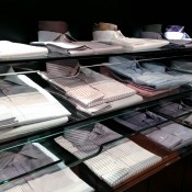 Custom shirts at Scabal on Savile Row in London. Photo by alphacityguides.