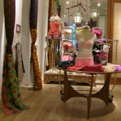Fashion display at Free People in New York. Photo by alphacityguides.