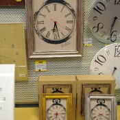 Clocks at Loft in Tokyo. Photo by alphacityguides.