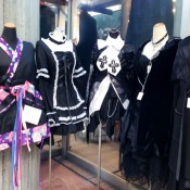 Gothic Lolita dresses in Tokyo. Photo by alphacityguides.