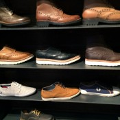 Mens shoes at Kith in New York. Photo by alphacityguides.