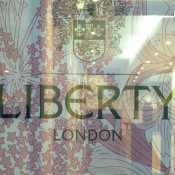 Window at Liberty London. Photo by alphacityguides.