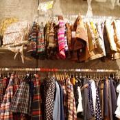 Winter knit shorts at Spinns Harajuku in Tokyo.