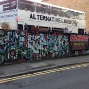 London street graffiti. Photo by alphacityguides.