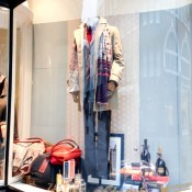Window display at Officina Slowear in London. Photo by alphacityguides.