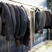 Menswear display inside The Dover Street Market London. Photo by alphacityguides.