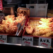 Tempura at Muginbo in Tokyo. Photo by alphacityguides.
