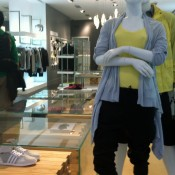 Fashion at Adidas SLVR in New York. Photo by alphacityguides.