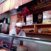 Inside Daiwa Sushi in Tokyo. Photo by alphacityguides.