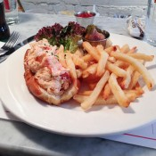 Lobster Rolls at Ed's Lobster Bar in New York. Photo by alphacityguides.