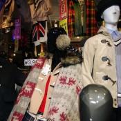 Coats at Spinns Harajuku in Tokyo.