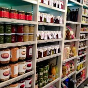 Pantry at Harrods in London. Photo by alphacityguides.