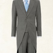 Bepoke morning suit at Gieves & Hawkes. Photo supplied by Gieves & Hawkes.