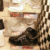 Sneakers at ABC Mart in Tokyo. Photo by alphacityguides.
