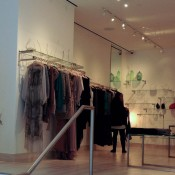 Fashion display inside Pamela Gonzales in New York. Photo by alphacityguides.