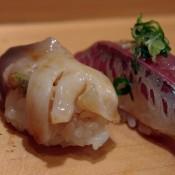 Akagi & Aji at Sushi Dai in Tokyo. Photo by alphacityguides.