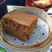 Malay sponge cake at Tim Ho Wan. Photo by alphacityguides.