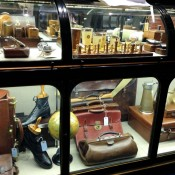 Accessories at Gieves & Hawkes on Savile Row in London. Photo by alphacityguides.