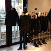Mens outerwear at Lumine Man in Tokyo. Photo by alphacityguides.