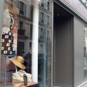 Store front at Victoire in Paris. Photo by alphacityguides.