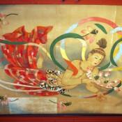 Artwork at Sensoji Temple in Tokyo. Photo by alphacityguides.