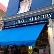 Store front at Chole Alberry in London. Photo by alphacityguides.