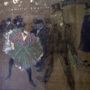 Toulouse-Lautrec painting at Musée d'Orsay.