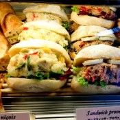 Sandwiches at French Bakery Viron in Tokyo. Photo by alphacityguides.