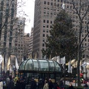 Rockefeller Center Christmas Tree  in New York. Photo by alphacityguides.