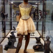 The Little Dancer by Edgar Degas at Musée d'Orsay.