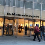 Museum of Modern Art in New York City. Photo by alphacityguides.