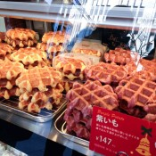 Waffles at Manneken in Tokyo. Photo by alphacityguides.