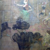 Toulouse-Lautrec painting at Musée d'Orsay. Photo by alphacityguides.
