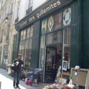 Store front at L'Atelier des Guillemites in Paris. Photo by alphacityguides.