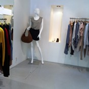 Fashion display at Oxyde in Paris. Photo by alphacityguides.