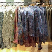Liberty print dress shirts at Liberty London. Photo by alphacityguides.