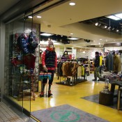 Store front at Aigle in Tokyo. Photo by alphacityguides.