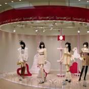 Isetan Girl carousel display at Isetan