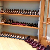 Shoe display at Hobbs in London. Photo by alphacityguides.