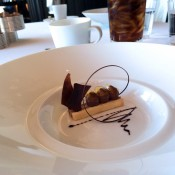 Chocolate dessert at Per Se in New York. Photo by alphacityguides.