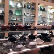 Tableware selection at Korin in New York. Photo by alphacityguides.