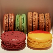 Macarons from Fauchon in Paris. Photo by alphacityguides.