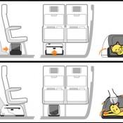 Illustration of Sleepypod Air in use.