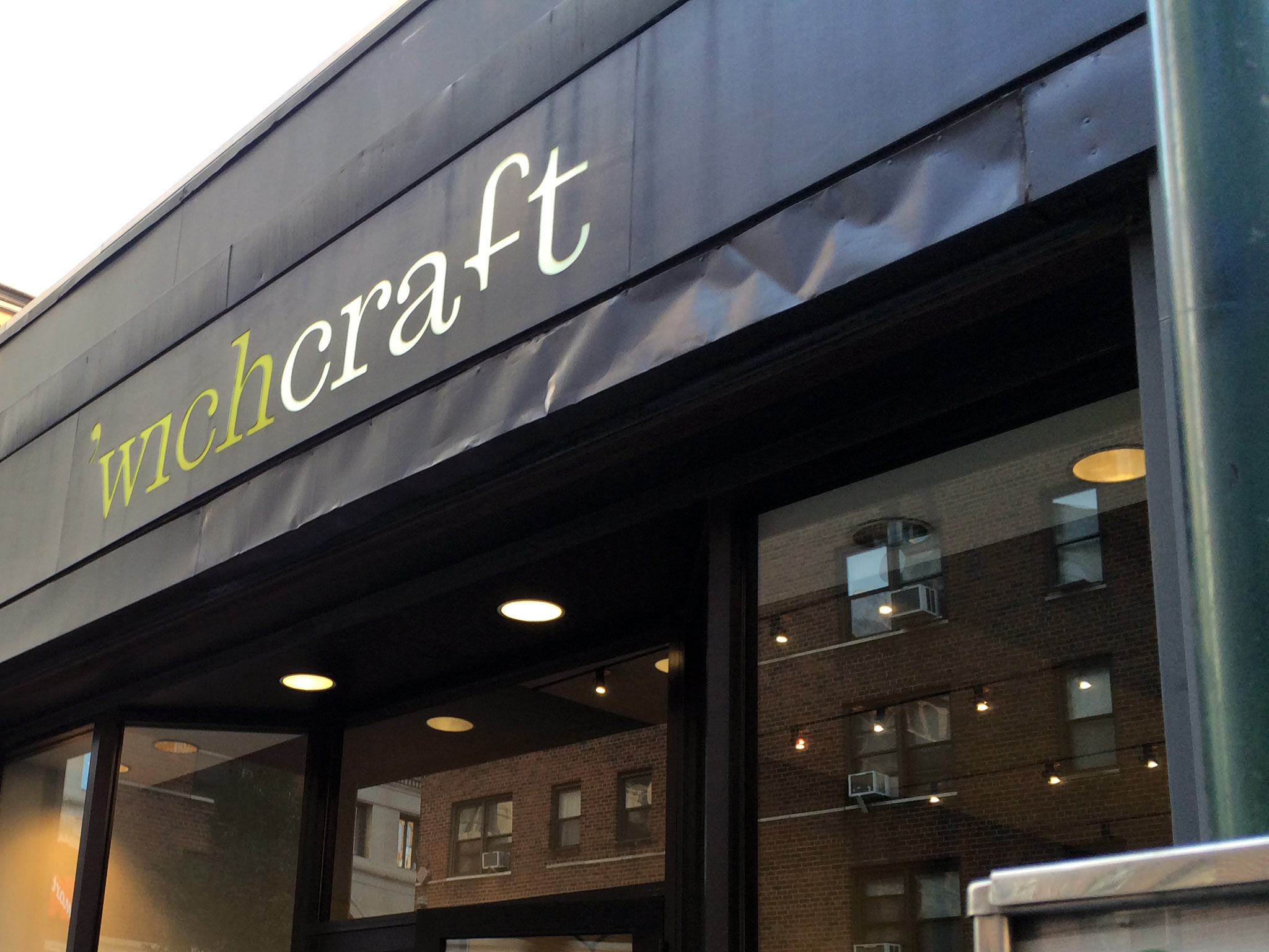 'wichcraft in New York. Photo by alphacityguides.