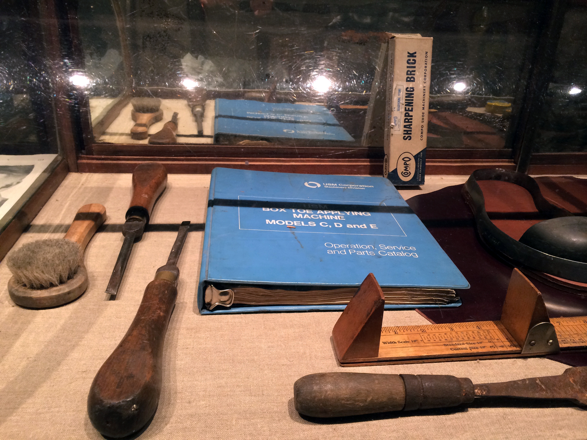 Vintage tools at Wolverine in New York. Photo by alphacityguides.